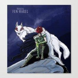 Princess Fen'harel Canvas Print