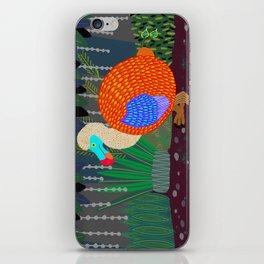 Dodo Bird in the Woods iPhone Skin