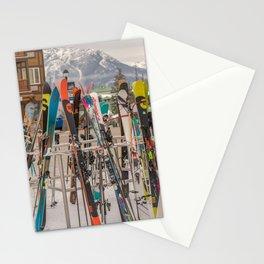 Ski Day Stationery Cards