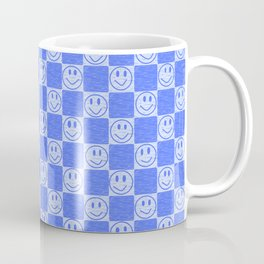 Blue Tiles with Smiles Coffee Mug