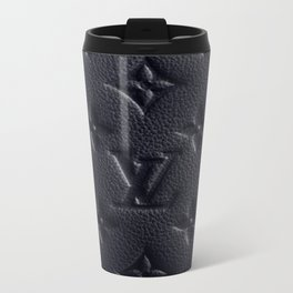 Black LV Travel Mug