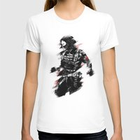 winter soldier T-shirts featuring The Winter Soldier by Ashqtara