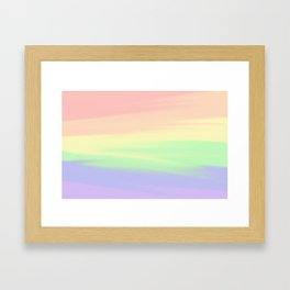Rainbow Blend Framed Art Print