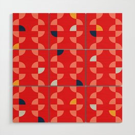 Geometric Pattern #2 Wood Wall Art