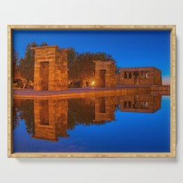 Temple of Debod Serving Tray