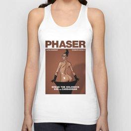 Phaser Magazine Cover Unisex Tank Top