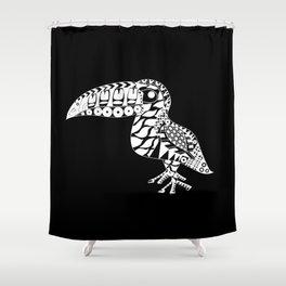 Toucan Le Bird Ecopop Shower Curtain