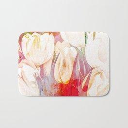 Tulip Fever Abstract Art Bath Mat