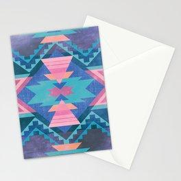 Native Blue Stationery Cards