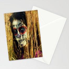 Dia De Los Muertos Gurl Stationery Cards
