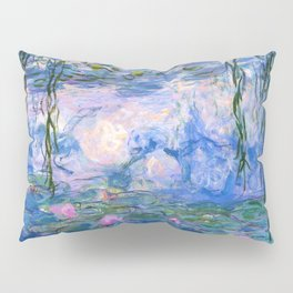 Water Lilies Monet Pillow Sham