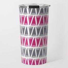 Tee Pee Pink Yarrow Travel Mug