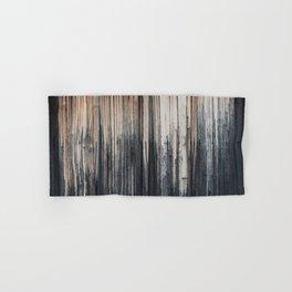 Weathered wood wall Hand & Bath Towel