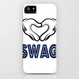 SWAG iPhone Case
