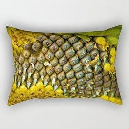 Sunflower seeds, anyone? Rectangular Pillow