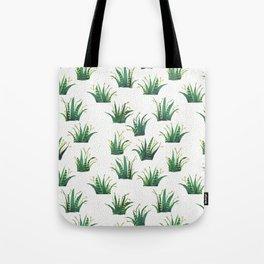 Field of Aloe Tote Bag