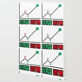 Buy Sell Trading Chart Wallpaper