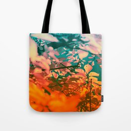 Autumn Fantasy colors of love & light Tote Bag