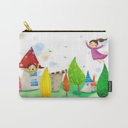 Happy Kids Carry-All Pouch