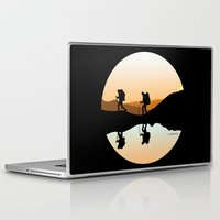 hiking Laptop & iPad Skins featuring HIKING by Şemsa Bilge (Semsa Fashion)