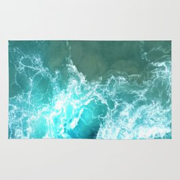 Caribbean Waves Rug