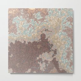 Stone Slab Metal Print