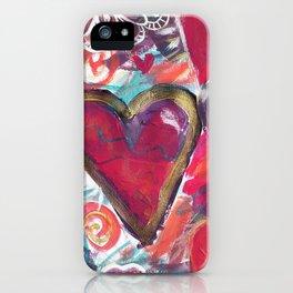 My Loving Heart iPhone Case