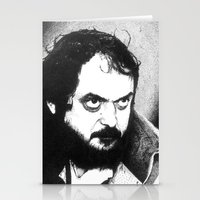 stanley kubrick Stationery Cards featuring Stanley Kubrick by Daniel Point