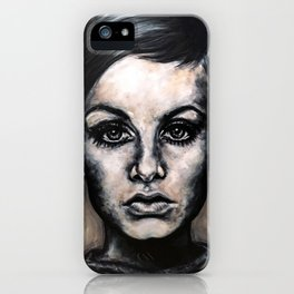 Twiggy iPhone Case