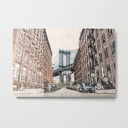 Dumbo New York City Metal Print