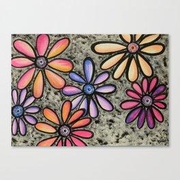 Flowers # 4 Canvas Print