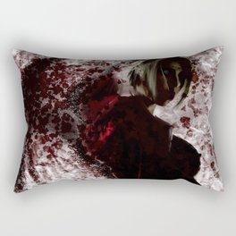 Blood Soaked Angel Rectangular Pillow