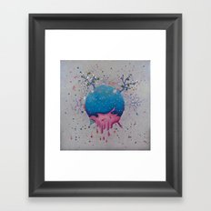 one sheep... two sheeps.... thee sheeps Framed Art Print