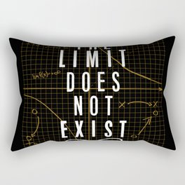 The Limit Does Not Exist Rectangular Pillow