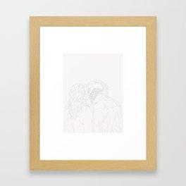 // Y O U  L O O K  S O  C O O L // Framed Art Print