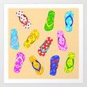 Flip Flops Pattern by julieerindesigns