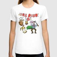 evil dead T-shirts featuring ♥ EVIL DEAD 2 ♥ by Josh LaFayette