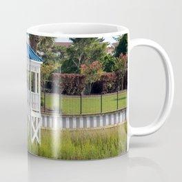 Blue And White Gazebo Coffee Mug