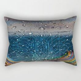Ocean of Wires-Global Network Rectangular Pillow