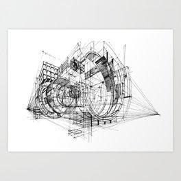 Architecture Fantasy 00347 Art Print