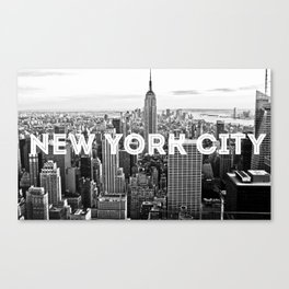 NYC LOVE Canvas Print