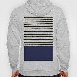 Navy x Stripes Hoody