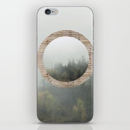 At the still point of the turning world. iPhone Skin