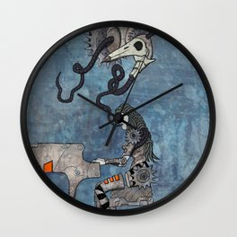 An enchanting voice Wall Clock