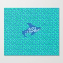 VANCITY SEAWALL Canvas Print
