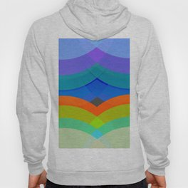 Abstract Composition 665 Hoody