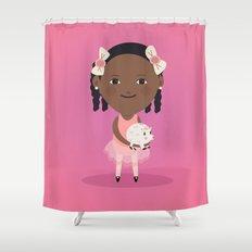 Little ballerina Shower Curtain
