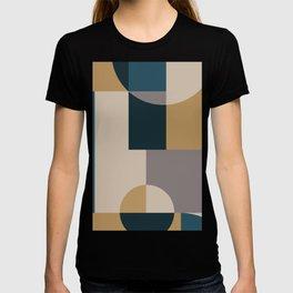 Geometeric Neutral Minimal T-shirt