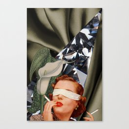 Blind Lily Canvas Print