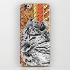 White tiger profile G001-012 iPhone & iPod Skin
